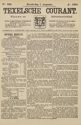 Texelsche Courant 1895-08-01