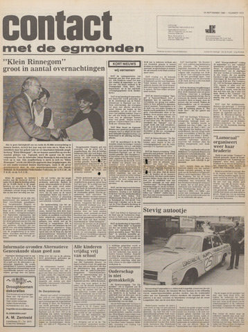 Contact met de Egmonden 1980-09-24