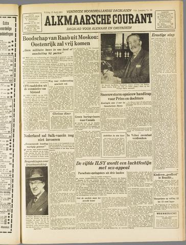 Alkmaarsche Courant 1955-04-15