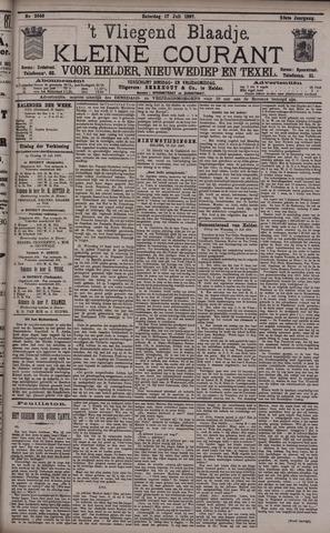 Vliegend blaadje : nieuws- en advertentiebode voor Den Helder 1897-07-17