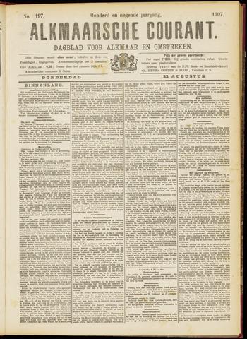 Alkmaarsche Courant 1907-08-22