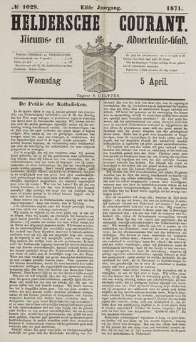 Heldersche Courant 1871-04-05