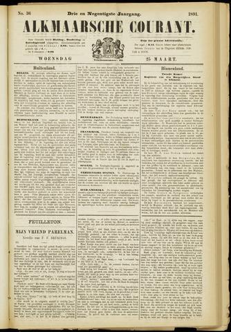 Alkmaarsche Courant 1891-03-25