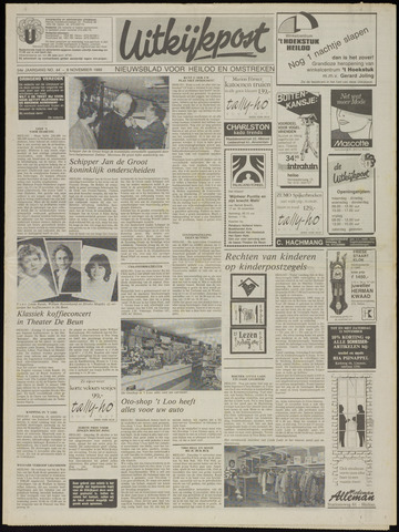 Uitkijkpost : nieuwsblad voor Heiloo e.o. 1989-11-08