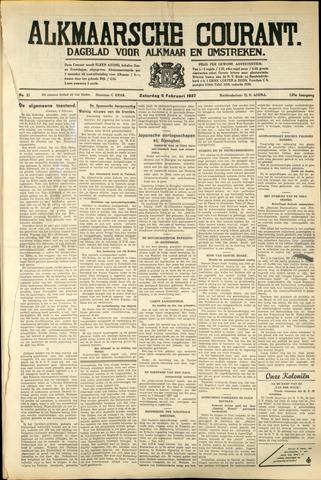 Alkmaarsche Courant 1937-02-06