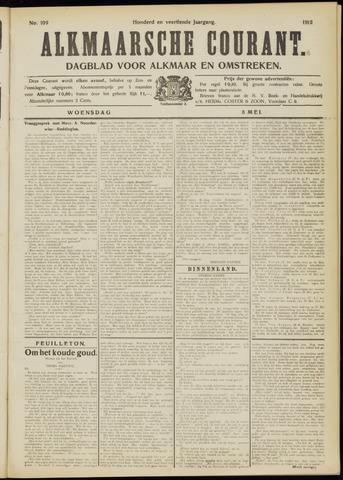 Alkmaarsche Courant 1912-05-08