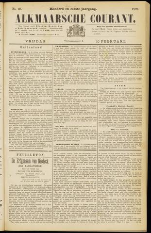Alkmaarsche Courant 1899-02-10