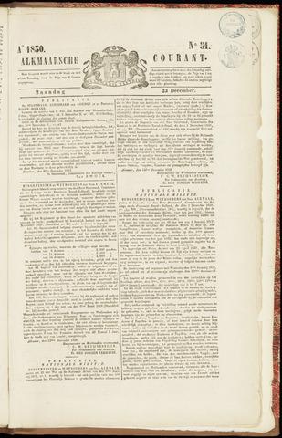 Alkmaarsche Courant 1850-12-23