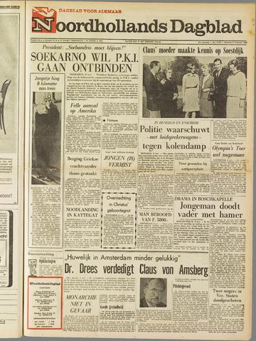 Noordhollands Dagblad : dagblad voor Alkmaar en omgeving 1965-11-08