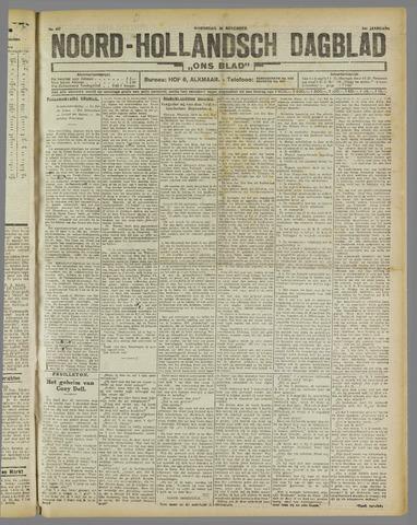 Ons Blad : katholiek nieuwsblad voor N-H 1921-11-30