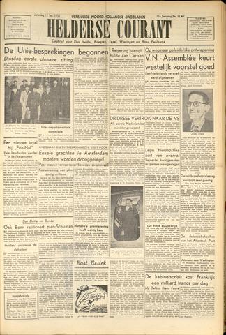 Heldersche Courant 1952-01-12