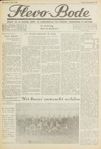Flevo-bode: nieuwsblad voor Wieringen-Wieringermeer 1949-05-25