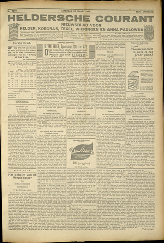 Heldersche Courant 1925-03-28
