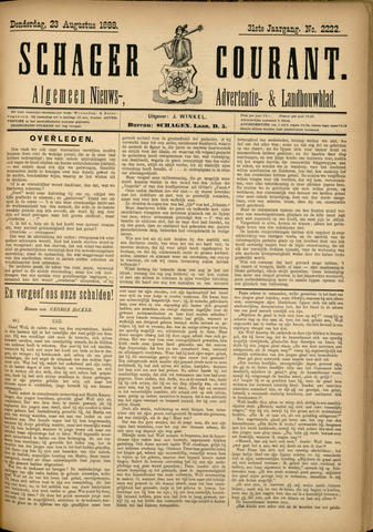 Schager Courant 1888-08-23