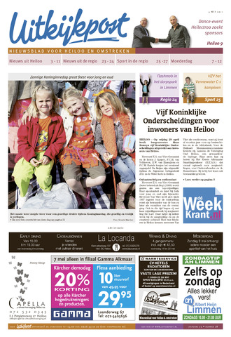 Uitkijkpost : nieuwsblad voor Heiloo e.o. 2011-05-04