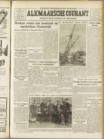 Alkmaarsche Courant 1955-03-25