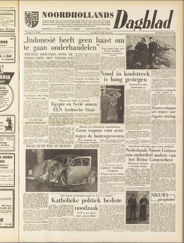 Noordhollands Dagblad : dagblad voor Alkmaar en omgeving 1958-01-27