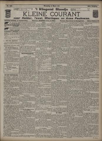 Vliegend blaadje : nieuws- en advertentiebode voor Den Helder 1910-03-16