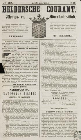 Heldersche Courant 1866-12-29