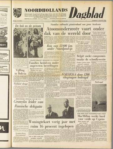 Noordhollands Dagblad : dagblad voor Alkmaar en omgeving 1958-08-09