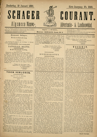Schager Courant 1888-01-19