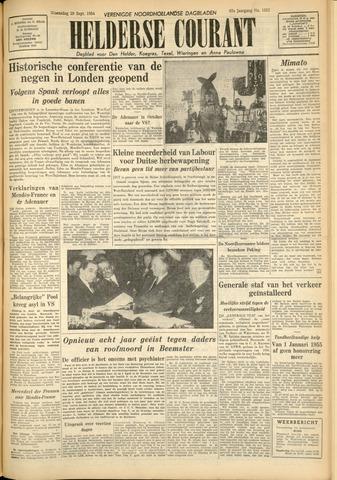 Heldersche Courant 1954-09-29