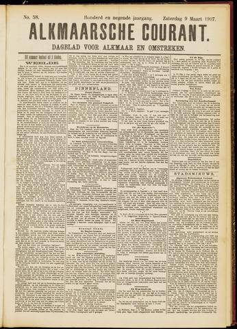 Alkmaarsche Courant 1907-03-09