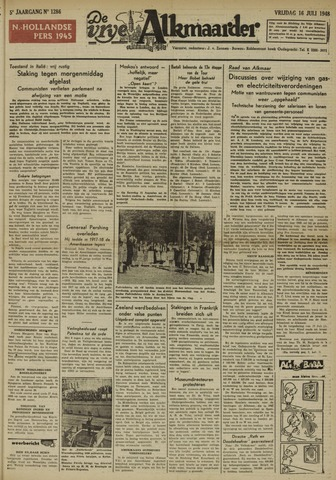 De Vrije Alkmaarder 1948-07-16
