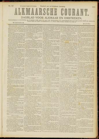 Alkmaarsche Courant 1919-06-18
