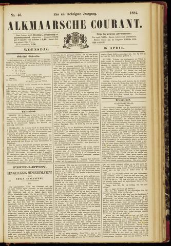 Alkmaarsche Courant 1884-04-16