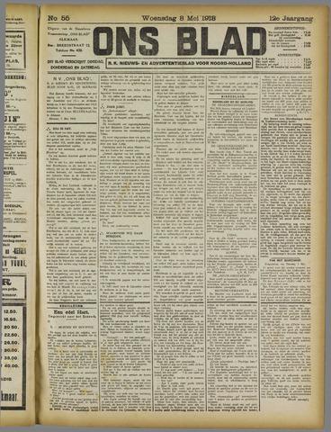 Ons Blad : katholiek nieuwsblad voor N-H 1918-05-08