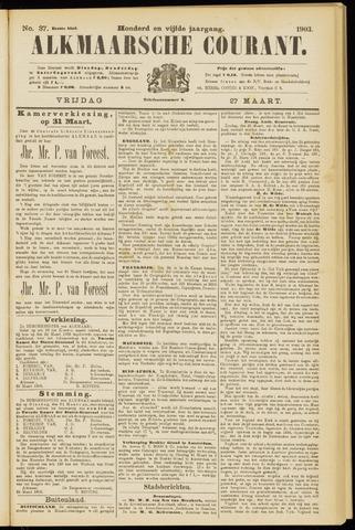 Alkmaarsche Courant 1903-03-27