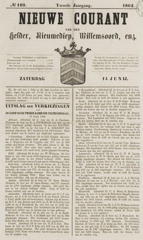 Nieuwe Courant van Den Helder 1862-06-14