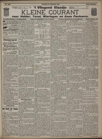 Vliegend blaadje : nieuws- en advertentiebode voor Den Helder 1909-12-25