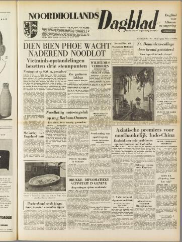 Noordhollands Dagblad : dagblad voor Alkmaar en omgeving 1954-05-03