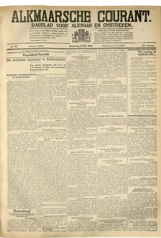 Alkmaarsche Courant 1933-05-08