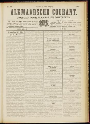 Alkmaarsche Courant 1909-05-22
