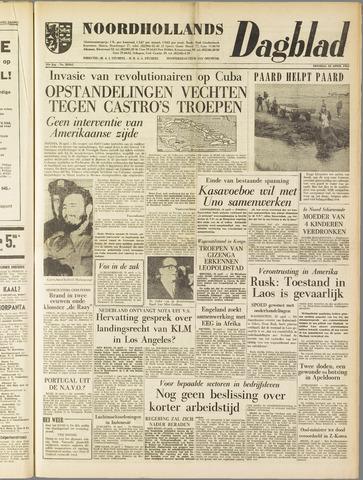 Noordhollands Dagblad : dagblad voor Alkmaar en omgeving 1961-04-18