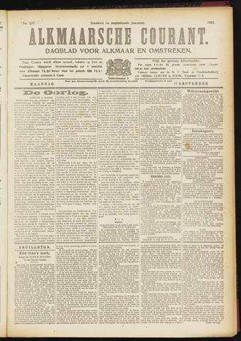 Alkmaarsche Courant 1917-09-17