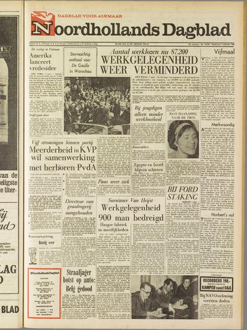 Noordhollands Dagblad : dagblad voor Alkmaar en omgeving 1967-09-07