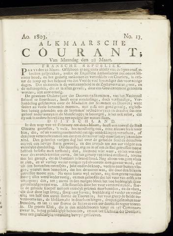 Alkmaarsche Courant 1803-03-28