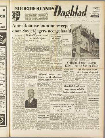 Noordhollands Dagblad : dagblad voor Alkmaar en omgeving 1953-08-01