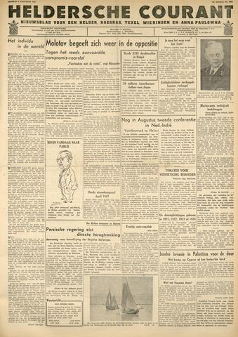 Heldersche Courant 1946-08-09