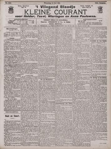 Vliegend blaadje : nieuws- en advertentiebode voor Den Helder 1904-06-15