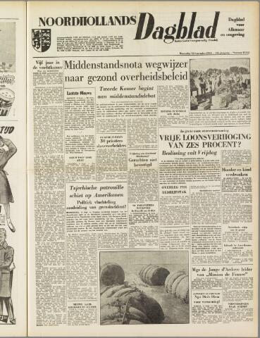 Noordhollands Dagblad : dagblad voor Alkmaar en omgeving 1954-09-15