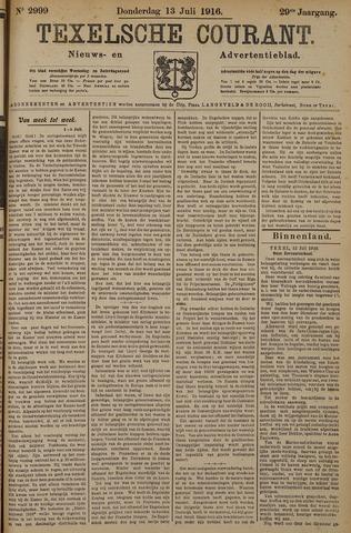 Texelsche Courant 1916-07-13