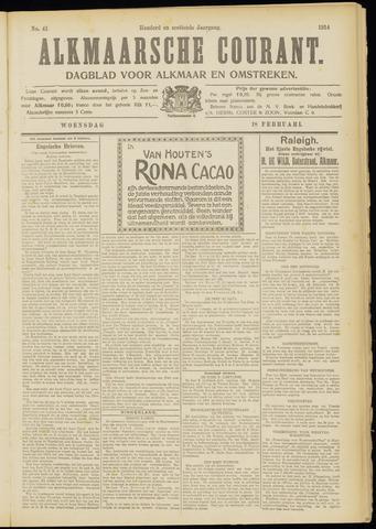 Alkmaarsche Courant 1914-02-18