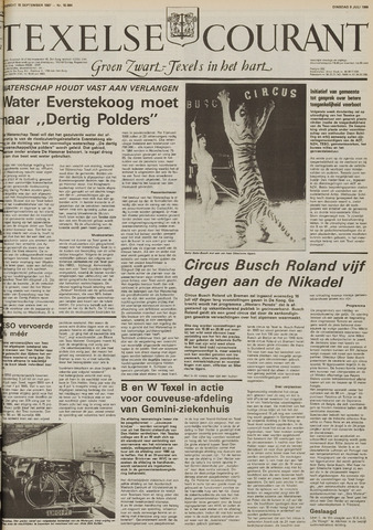 Texelsche Courant 1986-07-08