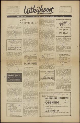 Uitkijkpost : nieuwsblad voor Heiloo e.o. 1956-08-24