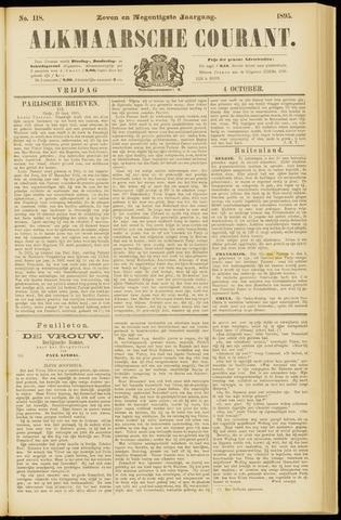Alkmaarsche Courant 1895-10-04